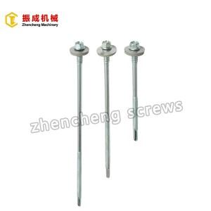 Factory Free sample Washer Head Self Tapping Screw - Hex Washer Head Self Tapping And Self Drilling Screw 1 – Zhencheng Machinery